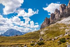Tre cime di Lavaredo (BZ) (Ondablv) Tags: alpino nuvole bolzano alto adige bosco abeti massiccio ondablv alberi trentino dolomiti tre cime lavaredo