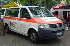 VW Transporter T5 - DRK (TIMRAAB227) Tags: vw volkswagen transporter t5 einsatzleitung elw incidentcommandunit van drk deutschesroteskreuz 2bonnerkatastrophenschutztag bonn miesen