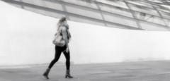 Striding (TablinumCarlson) Tags: europa europe niederlande nederland eindhoven netherlands north brabant spaceport sissyboy shop architektur architecture leica dlux 6 available light benelux gebäude haus weichzeichner highkey woman lady frau dame girl street streetphotography striding