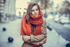 Irina (Vagelis Pikoulas) Tags: portrait woman girl beautiful beauty bucharest romania canon 6d sigma art 85mm f14 bokeh photography photoshoot street december winter 2018 travel
