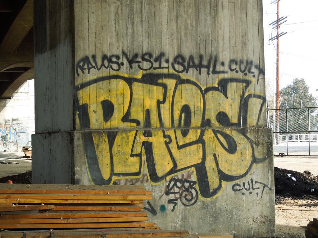 Gordon gekkoh tags ralos mta losangeles graffiti