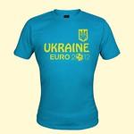 T-Shirt Ukraine Euro 2012 türkis thumbnail