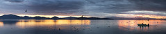 Solstice with notch (Cristiano Pelagracci) Tags: solstice winter sunset nature sky trasimeno water
