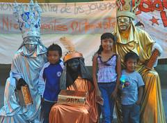 Tres Reyes Three Kings Oaxaca Mexico (Ilhuicamina) Tags: kings christmas navidad oaxaca mexico zocalo tresreyes reyesmagos costumes children