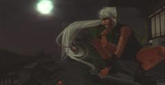 Kunoichi X Odachi (Gihn.) Tags: sl secondlife kunoichi ninja odachi shuriken valekoer jomo moon oriental