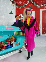 Tropical Splash Barbie doll, Great Shape Ken doll (alenamorimo) Tags: barbie barbiedoll dolls kendoll winter holidays barbiecollector superstar