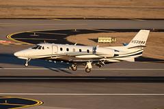 Cessna 560XLS Citation Excel + (zfwaviation) Tags: kdal dal dallaslovefield dallas texas airport airplane plane aircraft jet business private airliner aviation runway parking garage c spotting n539wa c56x citation xls
