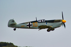 Hispano HA-112 MIL Buchon (G-AWHK) (alex kerr photography) Tags: hispanoha112 me109 messerschmittbf109 duxford flyinglegends airshow ww2 fighter fightercollection