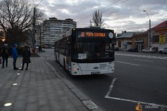 Transurb Galați 606 (43-PMG) (Pavlos Andreas - Transport Photography) Tags: bus maz minsk avtomobil zavod transurb