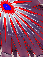 Inner Rebellion (Kombizz) Tags: c414 kombizz kaleidoscope experimentalart experimentalphotoart photoart epa samsung samsunggalaxy fx abstract pattern art artwork geometricart red blue purple osyan rebellion selfprotestingrebellion selfprotesting zajeh innerrebellion screaming