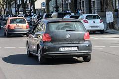 Croatia (Karlovac) - VW Polo V (PrincepsLS) Tags: croatia croatian license plate ka karlovac germany berlin spotting vw polo v