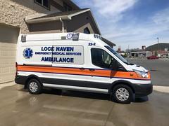 Pennsylvania ambulance (CasketCoach) Tags: ambulance ambulancia ambulanz ambulans rettungswagen krankenwagen paramedic ems emt emergencymedicalservice firefighter fordtransit