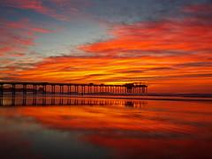 shores_10 (SamOphoto2011) Tags: canon 5dmarkiii california lajolla lajollashores 1635f4l ocean surf sea sunset scriptspier