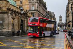33265 YX68UPS First Glasgow (busmanscotland) Tags: 33265 yx68ups first glasgow yx68 ups ad adl alexander dennis e40d enviro400 enviro 400