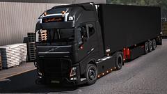 Volvo (Byozgatli) Tags: volvo volvofh volvotruck schmitz frigo flowers wunderwaffe truck trailer real realistic dutch turkey trux eurotruck ets2 game girl