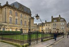 Beaufort Square, Bath, Somerset (Baz Richardson) Tags: somerset bath beaufortsquarebath theatreroyalbath gradeiilistedbuildings georgianarchitecture