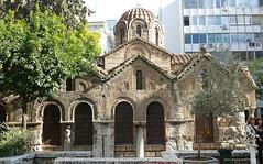 Eglise orthodoxe Kapnikarea XI° siècle ATHENES (JPH4674) Tags: bâtiment architecture église historique grêce athenes orthodoxe