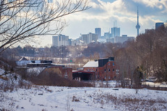 EverGreen Brickworks Winter 2019 (A Great Capture) Tags: agreatcapture agc wwwagreatcapturecom adjm ash2276 ashleylduffus ald mobilejay jamesmitchell toronto on ontario canada canadian photographer northamerica torontoexplore winter l'hiver 2019 cold snow weather city downtown lights urban landscape paisaje paysage landschaft cityscape urbanscape eos digital dslr lens canon 6d mark ii ef70200mm urbannature sky himmel ciel bluesky cloudy outdoor outdoors outside vibrant colorful cheerful vivid bright architecture architektur arquitectura design stone stones rock rocks woods trees tree arbre forest wald árvore history historic evergreen
