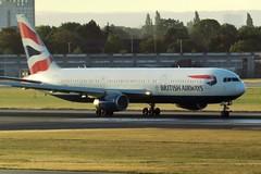 G-BZHA Heathrow 24 August 2018 (ACW367) Tags: gbzha boeing 767300er britishairways heathrow