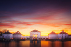Nymhenburg Castle - Munich (Carlos Malvar) Tags: nymphenburg schlossnymphenburg castle munich münchen bavaria bayern germany deutschland travel reisen reise sunset sonnenuntergang reflections schloss