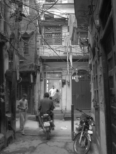 Old city of Lahore, Pakistan.