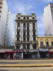 Av.18 de Julio (George Baritakis) Tags: montevideo uruguay latinamerica sudamerica city cityscape travel travelling travelblog architecture