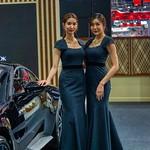 Beautiful presenters for Aston Martin at the 35th Thailand International Motor Expo at IMPACT Challenger Hall in Muang Thong Thani, Nonthaburi thumbnail