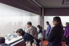 National Palace Museum Taiwan - Mother-in-law Admires Taiwan Relects (dalenolanjr) Tags: nationalpalacemuseum taiwan taipei travel museum relics ancient chinese china artifacts visit 台北 台灣 臺灣 故宮博物館 博物館 古物