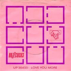 Buzzcocks - Love You More (1978) (stillunusual) Tags: buzzcocks loveyoumore single vinyl sleeve artwork picturesleeve punk punkrock newwave postpunk aside 1970s 1978