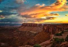 He's a different man than you know from home (Dave Arnold Photo) Tags: ut utah moab canyonlands nationalpark shafercanyon mountains coloradoriver national recreation image pic us usa picture photo photograph photography photographer davearnold davearnoldphotocom beautiful lasalmountains fantastic travel scenic cloud sunset rockymountains spread wet cloudy desert canyon canon 5d mkiii 24105mm huge big mountain rock perfect sanjuancounty landscape nature summer rural outdoor weather sky mesa butte arches grandview point
