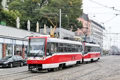 BRN_1661_201811 (Tram Photos) Tags: ckd t3r brno brünn strasenbahn tram tramway tramvaj tramwaj mhd šalina dopravnípodnikměstabrna dpmb tatra