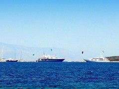 View From the Apantima Beach (dimaruss34) Tags: newyork brooklyn dmitriyfomenko image sky sea water horizon greece antiparos boats yachts paros