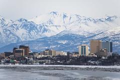 Anchorage, AK (George Baritakis) Tags: city cityscape travel travelling travelblog alaska polar winter nature skyline