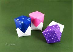 origami box (polelena24) Tags: origami box paper square