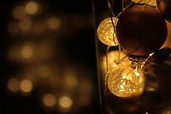 Christmas lights and mini baubles (christina.marsh25) Tags: light bauble christmas decoration reflection bokeh macro holidaybokeh macromondays