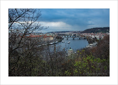 Up around the bend (prendergasttony) Tags: creedenceclearwaterrevival bend river nikon d7200 outdoors europe tonyprendergast prague praha bridges boats