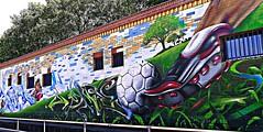 Berlin 2018.06.07. Mural 138.5 - FC Kreuzberg - 2014 (Rainer Pidun) Tags: mural streetart urbanart publicart berlin