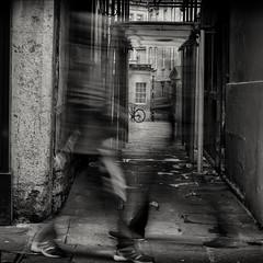 speedwalking (Daz Smith) Tags: dazsmith fujifilmxt3 xt3 fuji bath city streetphotography people candid portrait citylife thecity urban streets uk monochrome blancoynegro blackandwhite mono lur blurred speed walking