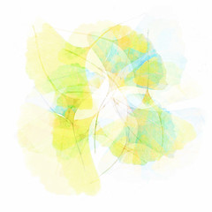 06/365 Ginkgo Leaves (Jane Simmonds) Tags: iphone leaves multipleexposure abstract ginkgobiloba maidenhairtree 3652019