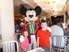 Florida Day 4 - 100 Disneys Hollywood Studios Minnies Holiday Dine at Hollywood and Vine Mickey Mouse (TravelShorts) Tags: wdw walt disney world disneys hollywood studios florida orlando fantasmic frozen vine star wars tower terror