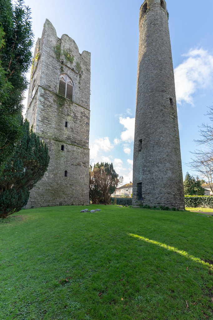 ST COLUMBA'S CHURCH AND GROUNDS IN SWORDS COUNTY DUBLIN [CHURCH ROAD]-148780