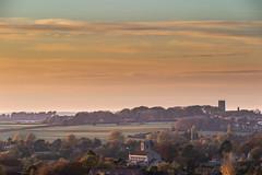 Cley And Blakeney at Dusk (andybam1955) Tags: coastal rural sky northnorfolk landscape cleyatdusk norfolk cleychurch