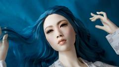 Blue_01 (PhoenixDollsBJD) Tags: balljointeddolls bjd balljointed ball balljointeddoll bjdoll bjdhead bjds bjddoll abjd abjds asianballjointeddoll elle head mei phoenixdolls phoenix sale jointed off orla dolls doll android liu scifi autumn