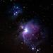 M42 Orion Nebula and Running Man Nebula