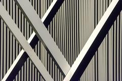 Interplay of lines with black and white (Jan van der Wolf) Tags: map19198v blackandwhite zwartwit interplayoflines playoflines lijnen lijnenspel lines art artwork kunst kunstwerk kunsthal