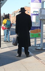 02a.BusStop.PennStation.BaltimoreMD.28November2017 (Elvert Barnes) Tags: 2017 baltimoremd2017 streetphotography streetphotography2017 baltimoremaryland baltimorecity maryland md2017 stpaulstreet stpaulstreet2017 publictransportation publictransportation2017 commuting commuting2017 sign busstop busstops2017 baltimorebusstop baltimorebusstops2017 waitingatbusstop waitingatbusstopsbaltimoremaryland busstop493 busstop493amtrakpennstationstpaulstreet november2017 mtamaryland marylandtransitadministration tuesday28november2017returntobmorefromwashingtondc 28november2017 tuesday28november2017triptowashingtondcforwwhdentalappointment