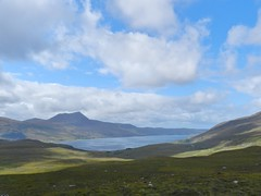 Sunlight and Shadows, Little Loch Broom, West Highlands of Scotland, Aug 2018 (allanmaciver) Tags: badralloch west highlands scotland little loch broom dundonnell scenery sunlight shadows view allanmaciver