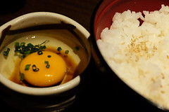 塩麹卵かけご飯 (HAMACHI!) Tags: tokyo 2018 japan ueno oysterbar diningrestaurant izakaya 佐渡島へ渡れ上野店 塩麹卵かけご飯 egg rice