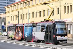 BTS_7105_201811 (Tram Photos) Tags: ckd tatra k2s bratislava dopravnýpodnikbratislava dpb strasenbahn tram tramway električková mhd električka vollwerbung ganzreklame