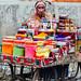 Gulal Vendor with Chai, Shikohabad India